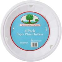 Best Brands 4pk Paper Plate Holder - Walmart.com