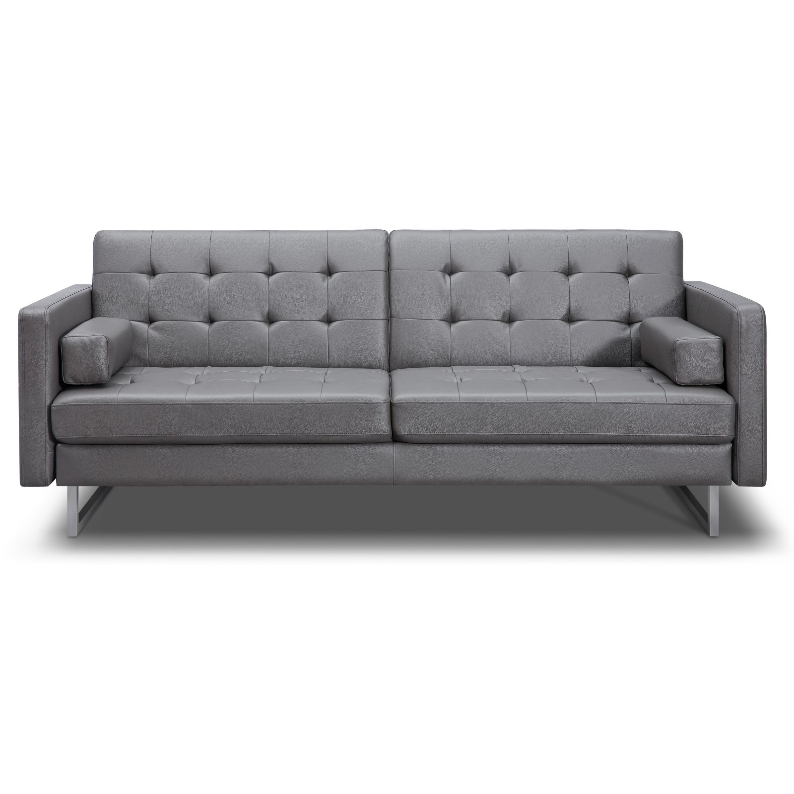Outstanding Contemporary Leather Sofa Bed Beutiful Home Inspiration Truamahrainfo