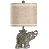 Better Homes and Gardens Elephant Table Lamp, Gray ...