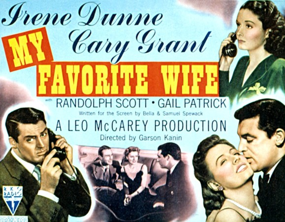 Image result for my favourite wife poster