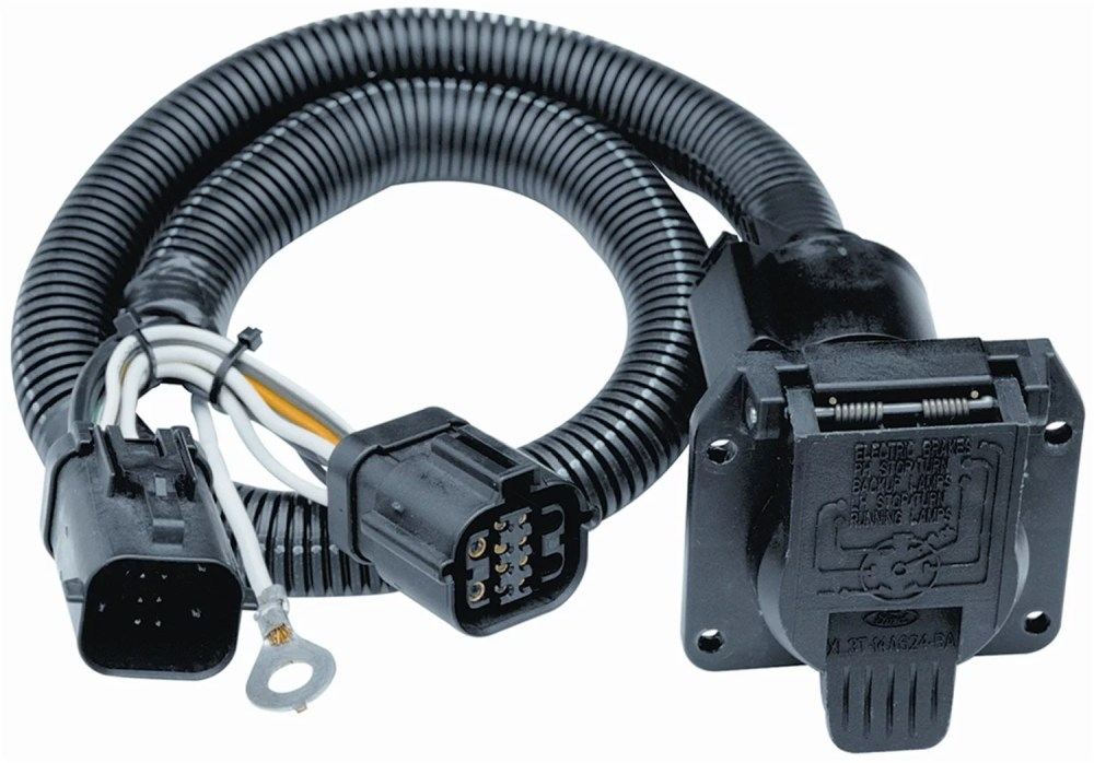 medium resolution of 118242 7 way replacement tow package wiring harness pilot 20212 118709 taillight plug adapter
