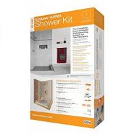 SCHLUTER SYSTEMS KERDI SHOWER KIT 32 x 60 OFF CENTER DRAIN ...