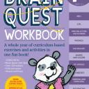 Brain Quest Workbook: Pre-K [With Stickers] (Paperback)