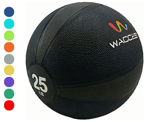 Wacces Weighted Fitness Medicine Ball Muscle Driver - 25 Lb