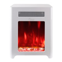 Caesar Fireplace Luxury Portable Mini Indoor Compact ...