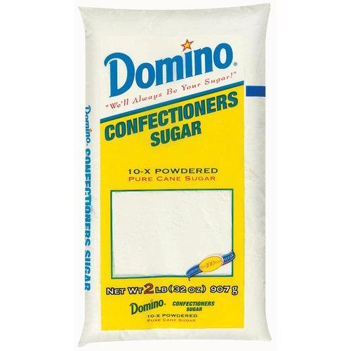 Domino Pure Cane Confectioners 10X Powdered Sugar 2 lb
