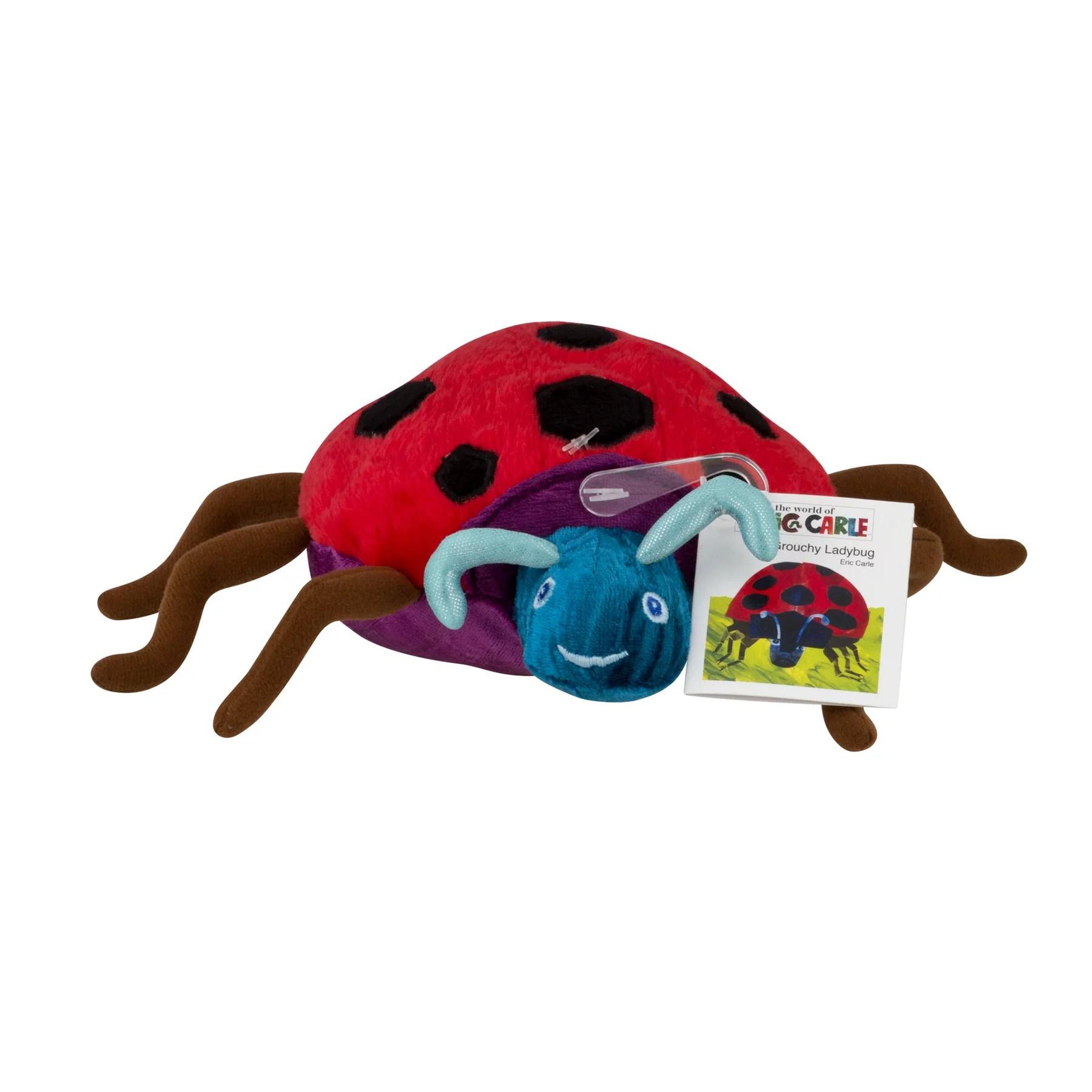 The World Of Eric Carle The Grouchy Ladybug Beanbag Plush