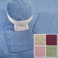 REFLECTIONS WALL TO WALL BATHROOM CARPET, CUT TO FIT, 5' X ...
