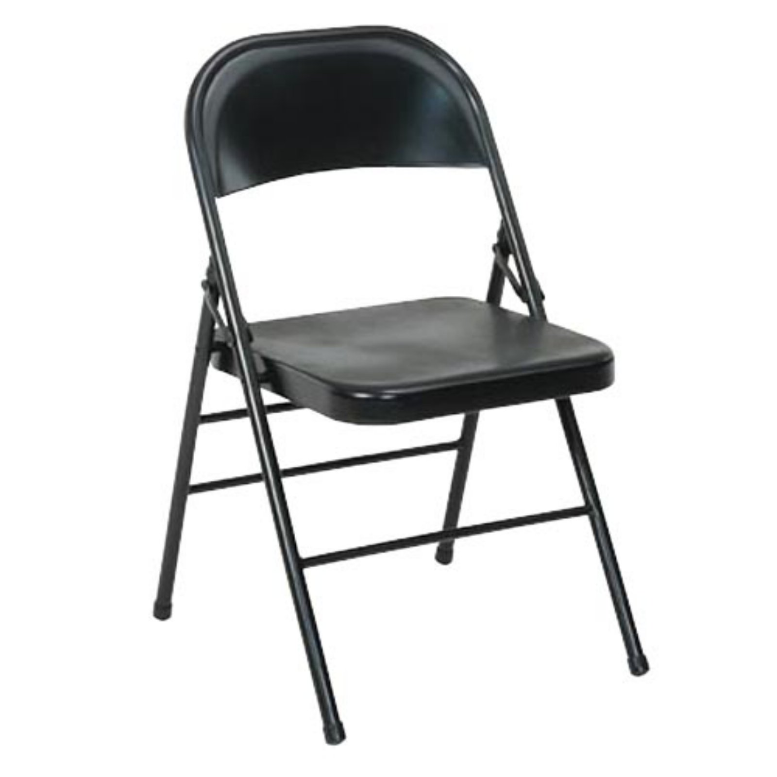 Cosco Folding Chair Cosco All Steel Folding Chair 4 Pack