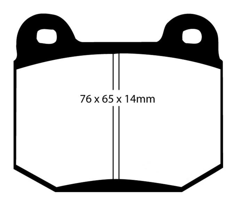 EBC 03-04 Infiniti G35 3.5 (Manual) (Brembo) Bluestuff