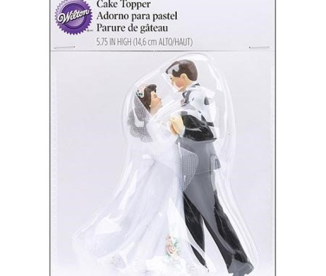 Wilton Our First Dance Couple Wedding Cake Topper  Ct