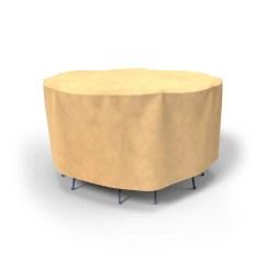 Walmart Armchair Covers Zoella Desk Chair Budge All Seasons Patio Bar Table And Chairs Medium 60 Diameter X 42 Drop Nutmeg Com