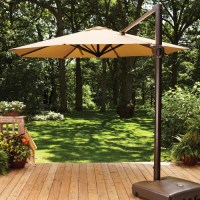 Better Homes and Gardens Aluminum Umbrella, 11', Straw ...