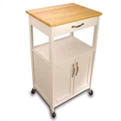 Kitchen Cart Table Lowes Pantry Catskill Craftsmen Butcher Block Black