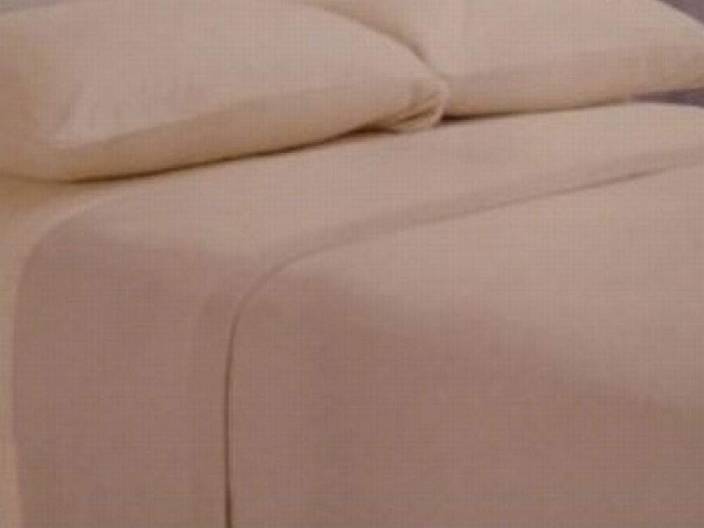 Home Classics Fleece Sheet Set Khaki Tan Full Bed Size