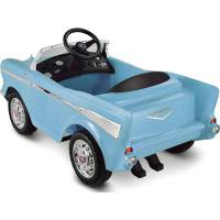 Toy Car Ride-On Blue 12-Volt Battery Powered Wheels ...