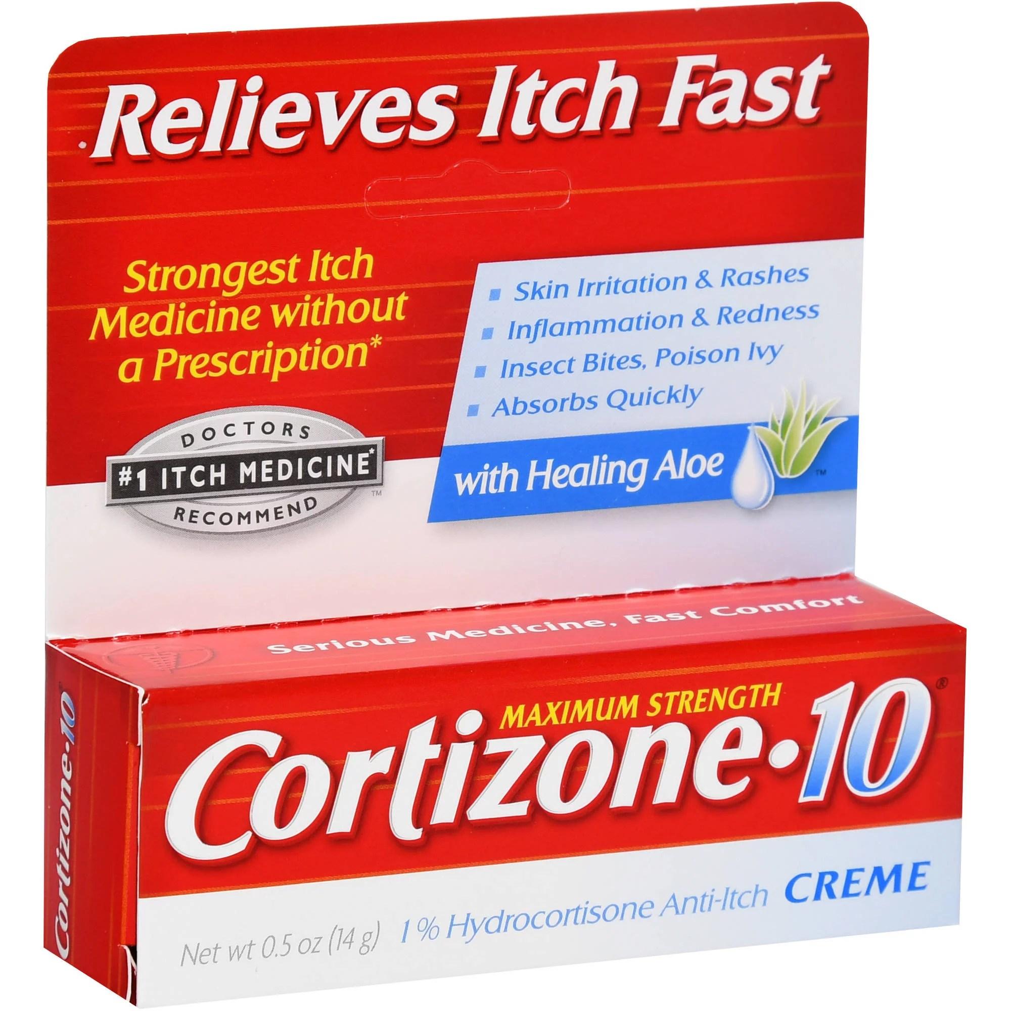 Cortizone-10 Cream .5 oz - Walmart.com