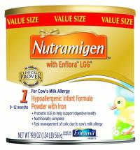 Enfamil Nutramigen with Enflora LGG Infant Formula, Powder ...