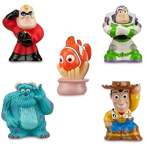 Nemo Bathroom Set Disney Pixar Toy Story The Incredibles Finding Nemo Theme Park Exclusive Bath Toy Set