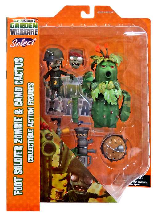 Diamond Select Toys Plants Vs Zombies Select Foot Soldier