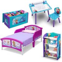 Delta Children Disney Frozen Toddler Canopy Bed - Walmart.com