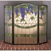 Meyda Tiffany 27235 Stained Glass / Tiffany Fireplace
