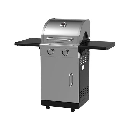 Chant Kitchen Equipment BG1762B 2-Burner Pedestal Gas Grill