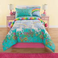 Kid Mix Unicorn 8-Piece Bed in a Bag Bedding Set - Walmart.com