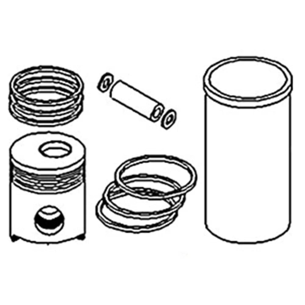 SRK727 Liner Sealing Ring Kit Made to fit Allis Chalmers
