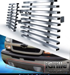 for 2003 2006 chevy silverado 1500 2500 stainless steel tow hook billet grille walmart com [ 1000 x 1154 Pixel ]