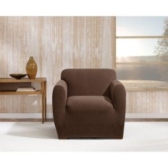 Stretch Morgan 1 Piece Sofa Furniture Cover Free Delivery London Slipcovers Walmart Com Product Image Chair Chocolate