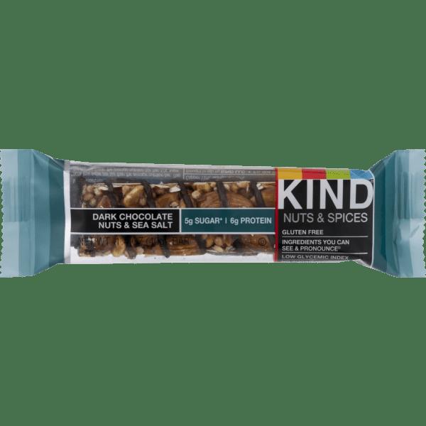 KIND Dark Chocolate Nuts amp Sea Salt 14 oz Bar Walmartcom