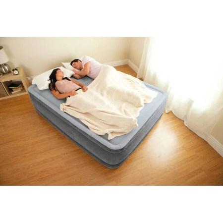 Intex Full 13 Durabeam Airbed Mattress With Built In Pump