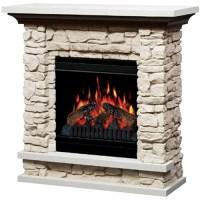 "Dimplex 36"" Compact Stone Electric Fireplace - Walmart.com"