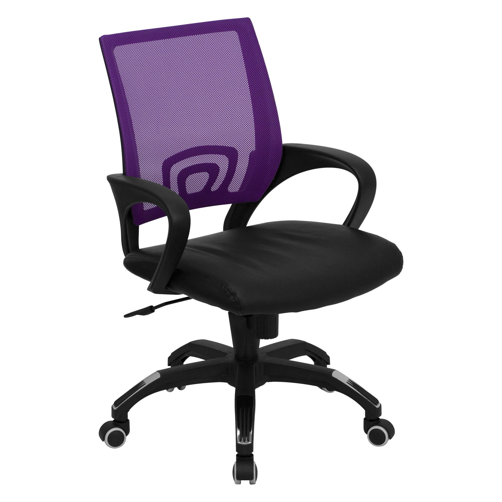 walmart computer chairs pier 1 directors chair flash furniture mid back with black leather seat
