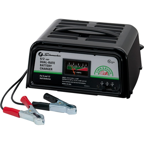 Schumacher 62 Amp Dual Rate Manual Charger