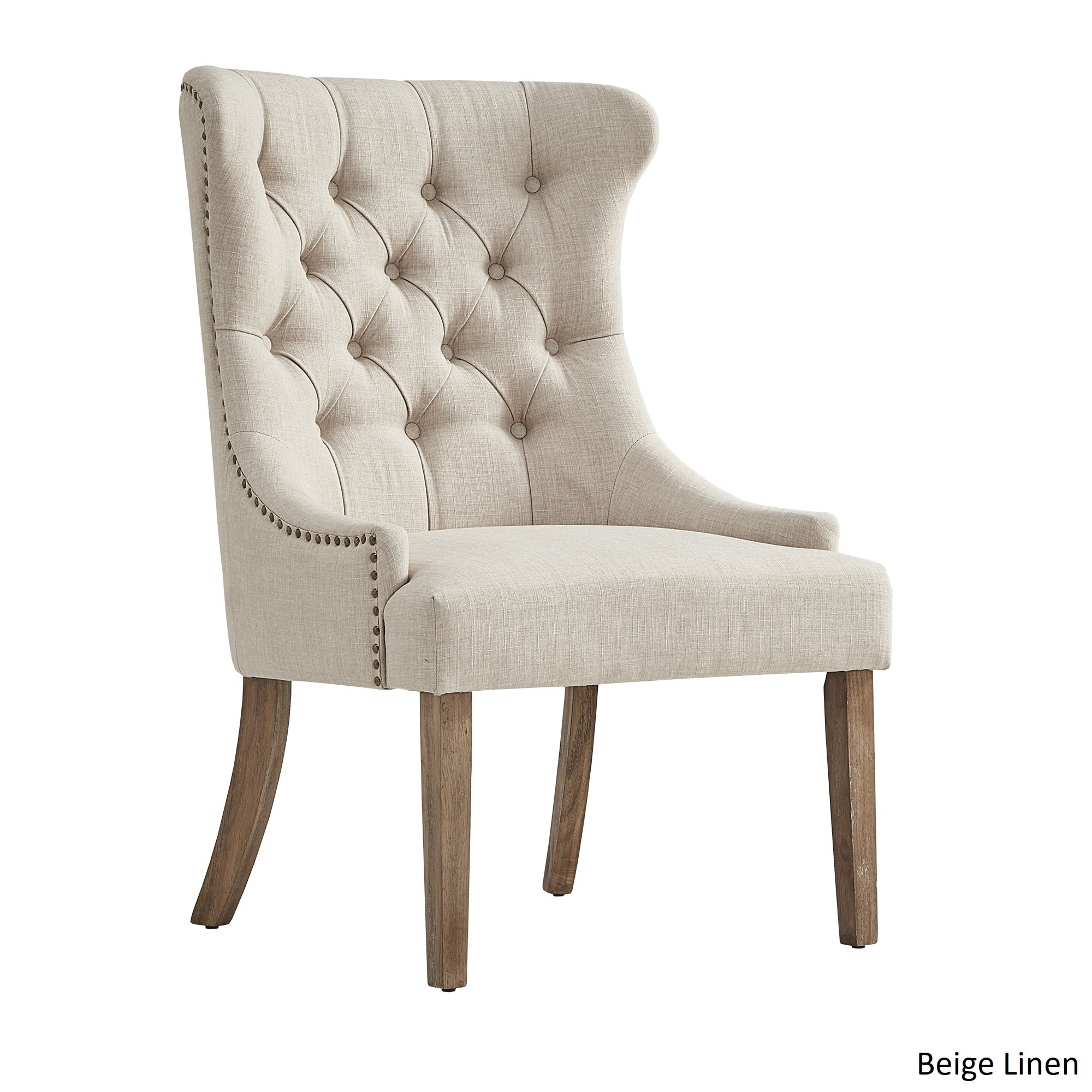 Wingback Tufted Chair Inspire Q Kimpton Upholstered Button Tufted Wingback Chair By Artisan
