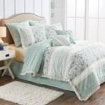 Better Homes Gardens Full Or Queen Cottage Floral Comforter Set 8 Piece Walmart Com Walmart Com