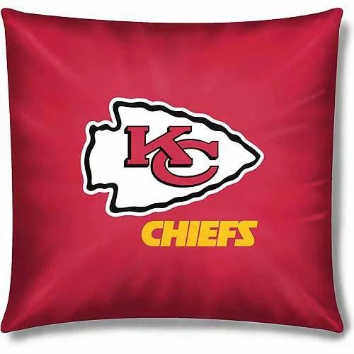 nfl kansas city chiefs official 15 toss pillow 1 each