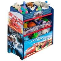 Disney Cars Bedroom Set with BONUS Toy Organizer - Walmart.com