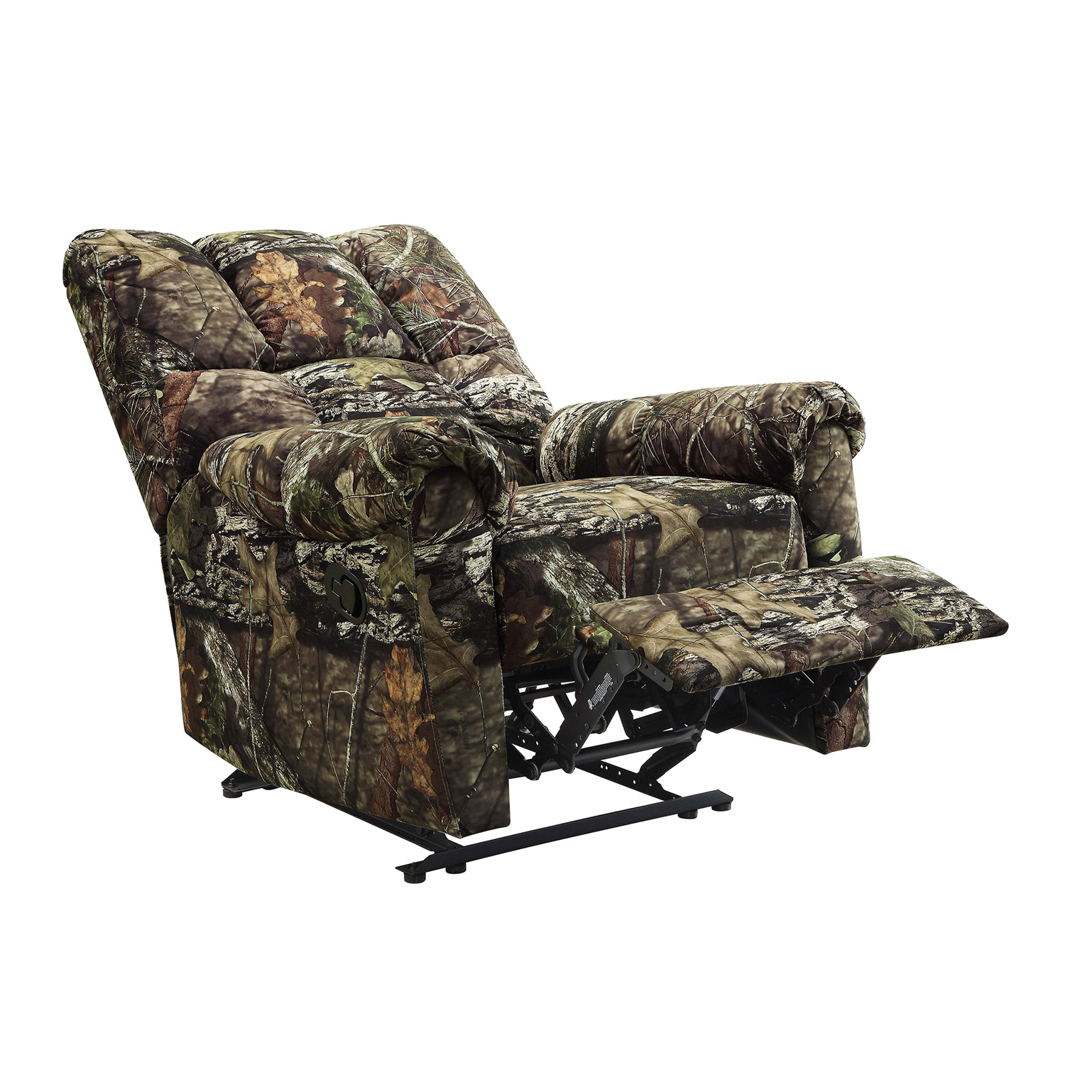 camo recliner chair foldable plans living room mossy oak hunter cabin rocking 3 day details about shipping