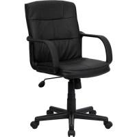 Flash Furniture Mid-Back Office Chair, Black - Walmart.com