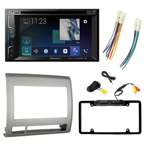 small resolution of pioneer avh1400nex 2 din multimedia receiver w 6 2 display metra 99 8214tg 2005 2011 toyota tacoma 2 din dash kit toyota 87 up wiring harness