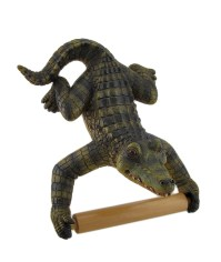 Alligator Assistant Hanging Single Roll Toilet Paper ...