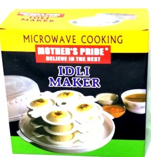 mother s pride microwave idli maker 3 tires 12 idlis
