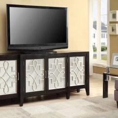 Living Room Console Lazy Boy Swivel Chairs Simple Relax Kacia Hallway Sofa Table Tv Stand Mirror Door Antique Black Walmart Com