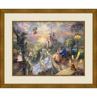 Thomas Kinkade BEAUTY AND THE BEAST FALLING IN LOVE, 20 ...