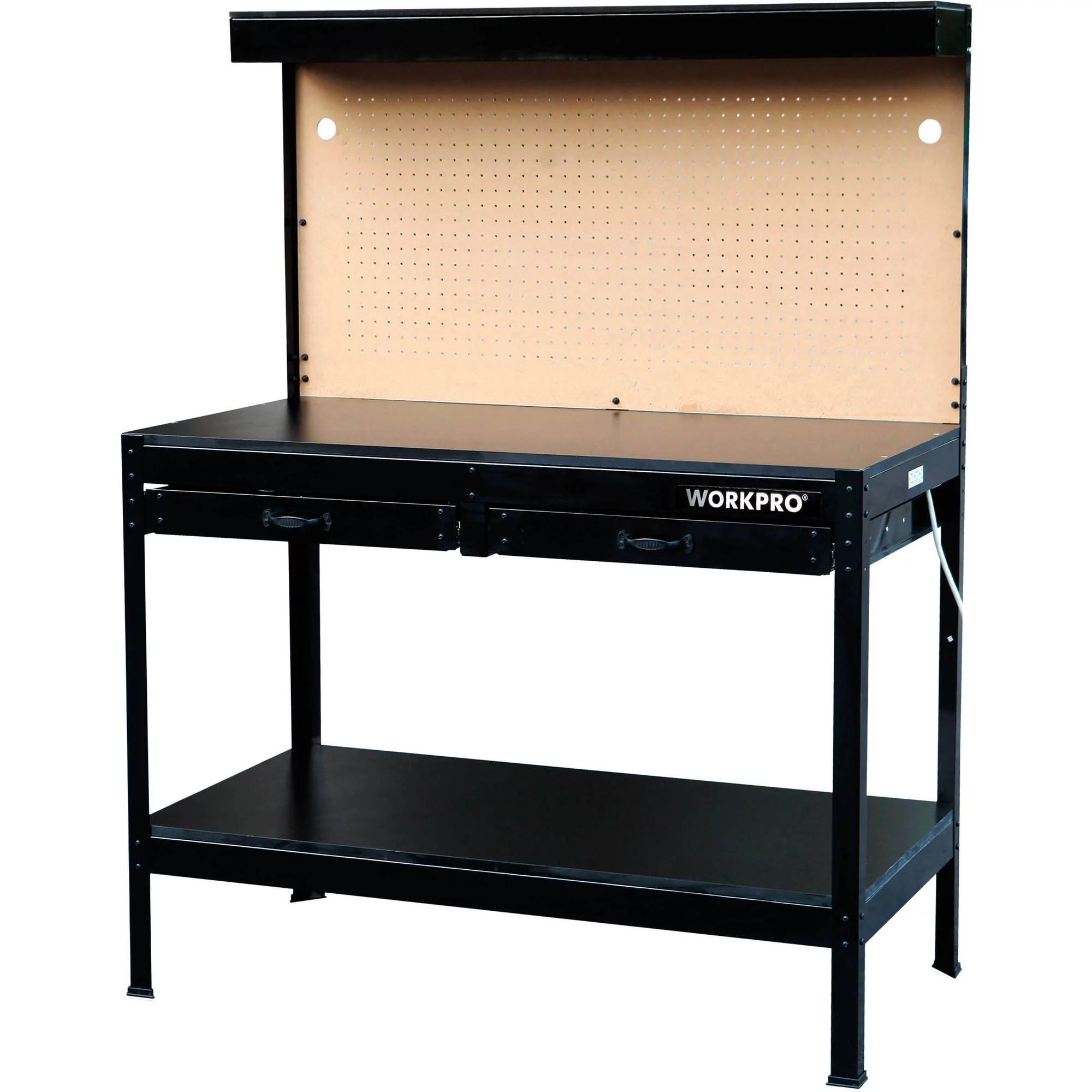 Multi Purpose Heavy Duty Workbench With Work Light by
