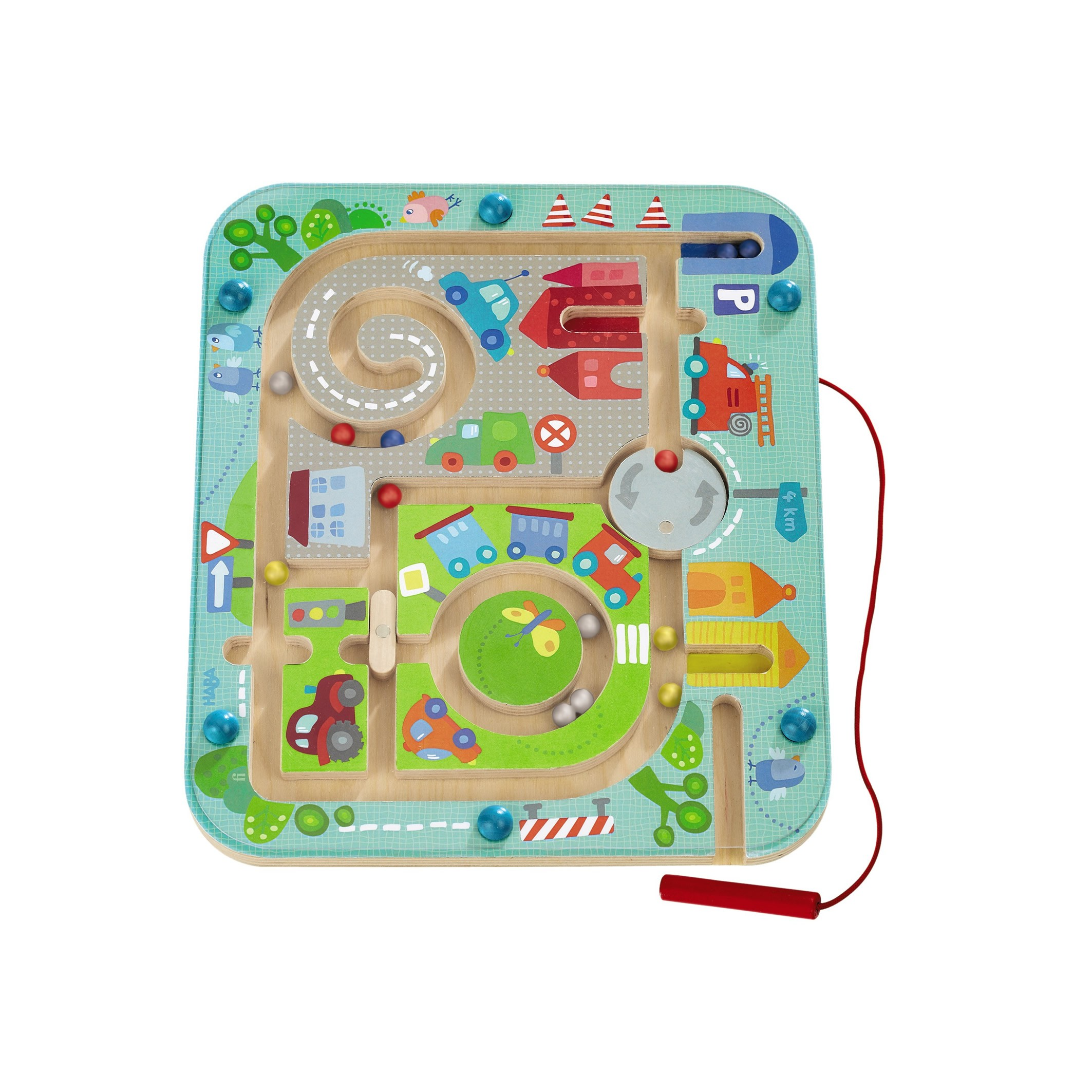 Haba Town Maze Magnetic Game For Ages 2
