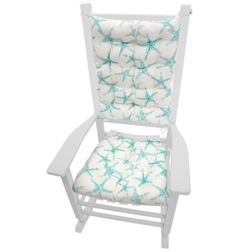baby rocking chair walmart fisher price table and chairs barnett home decor coastal indoor/outdoor cushion - walmart.com